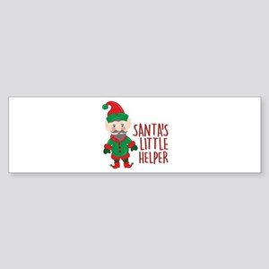 Santas Helper Bumper Sticker