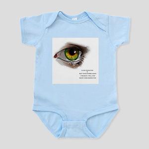 Eyes speaks a lot Body Suit