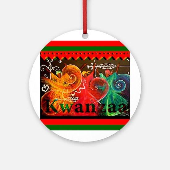 Kwanzaa Umoja! Ornament (Round)