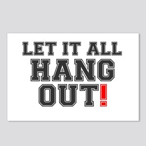 LET IT ALL HANG OUT! Postcards (Package of 8)