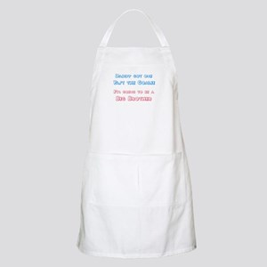 Past the Goalie - Big Brother BBQ Apron