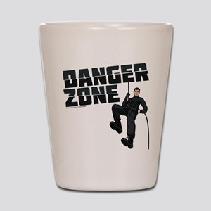 Archer Danger Zone Shot Glass