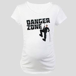 Archer Danger Zone Maternity T-Shirt