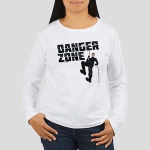Archer Danger Zone Women's Long Sleeve T-Shirt