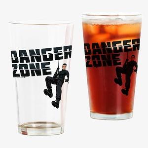 Archer Danger Zone Drinking Glass