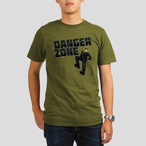 Archer Danger Zone Organic Men's T-Shirt (dark)