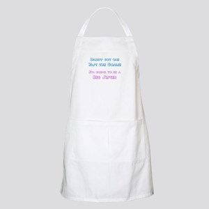 Past the Goalie - Big Sister BBQ Apron