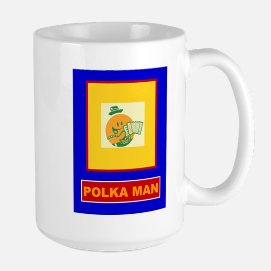 Polka Man Mugs