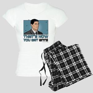 Archer Get Ants Women's Light Pajamas