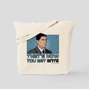 Archer Get Ants Tote Bag