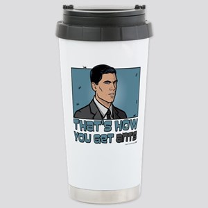 Archer Get Ants Stainless Steel Travel Mug