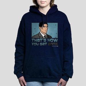 Archer Get Ants Women's Hooded Sweatshirt