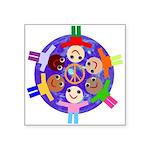 World Peace - Spread The Word Sticker