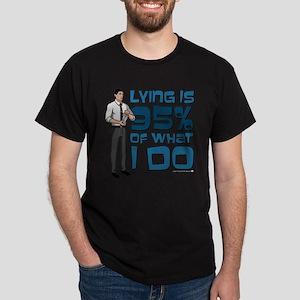 Archer Lying Dark T-Shirt