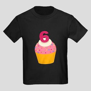 6th Birthday Cupcake T-Shirt