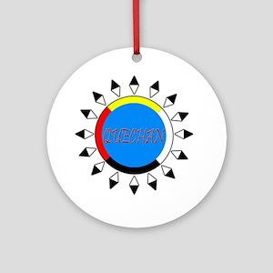 Quechan Ornament (Round)