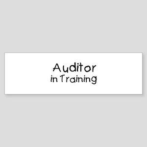 Auditor in Training Bumper Sticker