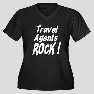 travel agents trans Plus Size T-Shirt