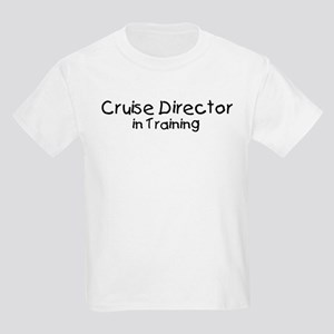 Cruise Director in Training Kids Light T-Shirt