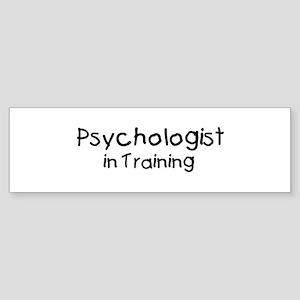 Psychologist in Training Bumper Sticker