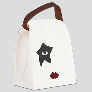kiss Canvas Lunch Bag
