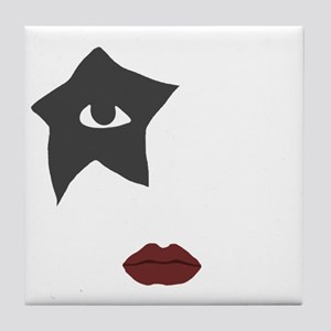 kiss Tile Coaster
