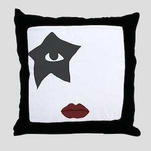 kiss Throw Pillow