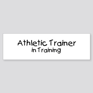 Athletic Trainer in Training Bumper Sticker