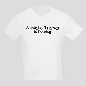 Athletic Trainer in Training Kids Light T-Shirt
