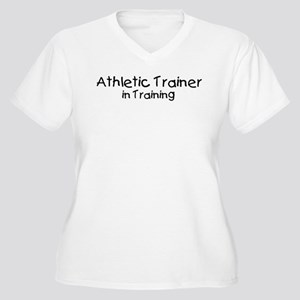 Athletic Trainer in Training Women's Plus Size V-N