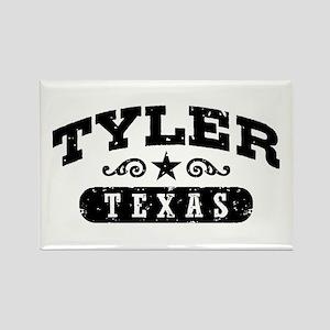 Tyler Texas Rectangle Magnet