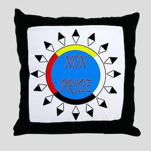 NDN Pride Throw Pillow