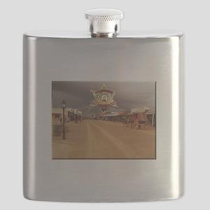 Tombstone Marshal Allen Street Flask