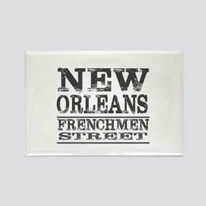 NEW ORLEANS FRENCHMEN STREET Magnets