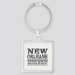 NEW ORLEANS FRENCHMEN STREET Keychains