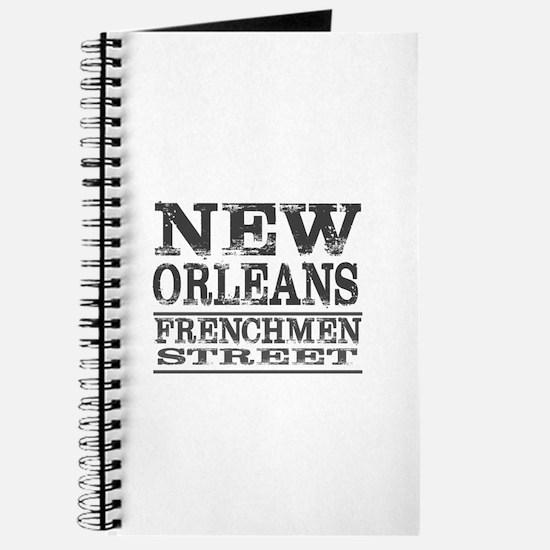 NEW ORLEANS FRENCHMEN STREET Journal