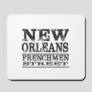 NEW ORLEANS FRENCHMEN STREET Mousepad