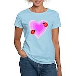 Ladybug Love Women's Light T-Shirt