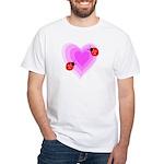 Ladybug Love White T-Shirt
