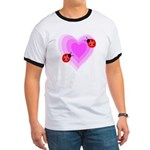 Ladybug Love Ringer T