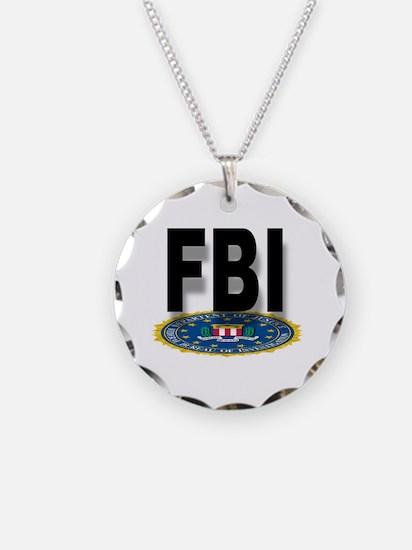 Cute Fbi Necklace