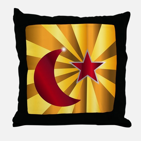Funny Koran Throw Pillow