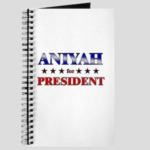 ANIYAH for president Journal