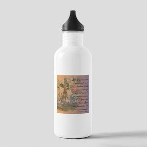 ParisABCDE12 Water Bottle