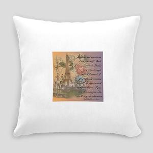 ParisABCDE12 Everyday Pillow