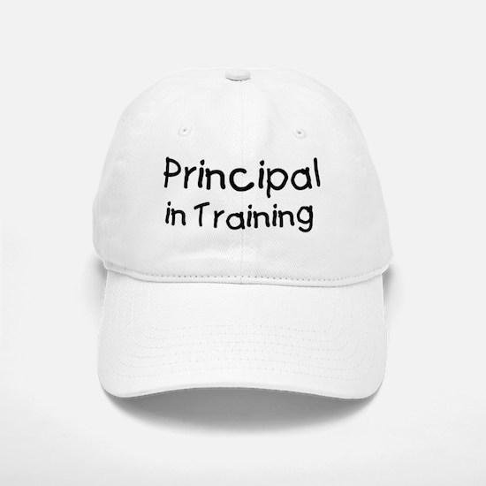 Principal in Training Baseball Baseball Cap