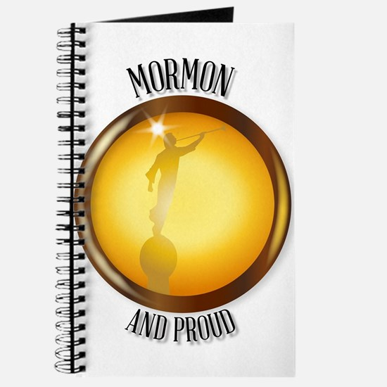 Mormon And Proud Button Journal