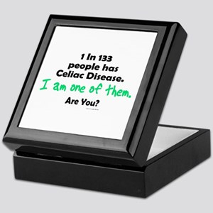 1 In 133 Has Celiac Disease 1.1 Keepsake Box