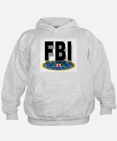 FBI Seal With Text Hoody