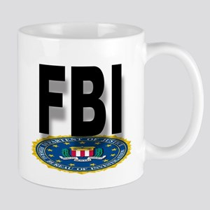 FBI Seal With Text Mugs